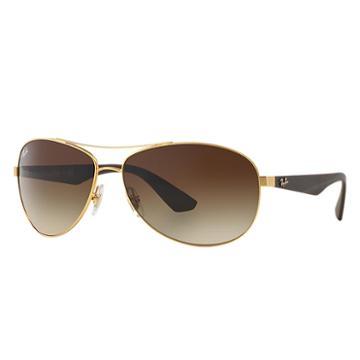 Ray-ban Brown Sunglasses, Brown Sunglasses Lenses - Rb3526