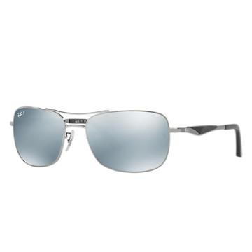 Ray-ban Gunmetal Sunglasses, Polarized Gray Lenses - Rb3515