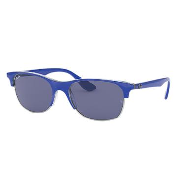 Ray-ban Blue Sunglasses, Violet Lenses - Rb4319