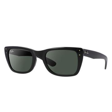 Ray-ban Caribbean Black Sunglasses, Green Lenses - Rb4148
