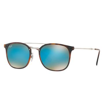 Ray-ban Men's Silver Sunglasses, Blue Lenses - Rb4286