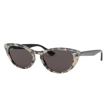 Ray-ban Nina Black Sunglasses, Gray Lenses - Rb4314n