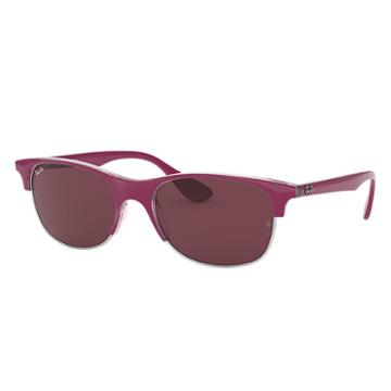 Ray-ban Pink Sunglasses, Violet Lenses - Rb4319