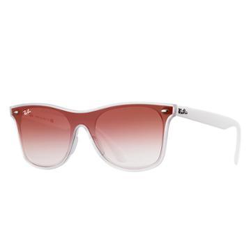 Ray-ban Blaze Wayfarer Red Sunglasses, Red Sunglasses Lenses - Rb4440n