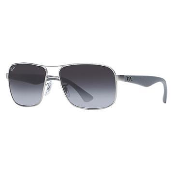 Ray-ban Grey Sunglasses, Gray Lenses - Rb3516