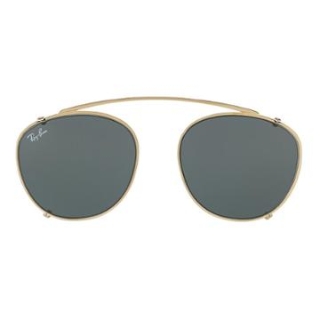 Ray-ban Men's Rb6355 Clip-on Gold Sunglasses - Rb6355c