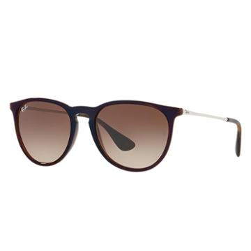 Ray-ban Women's Erika Classic Silver Sunglasses, Brown Lenses - Rb4171