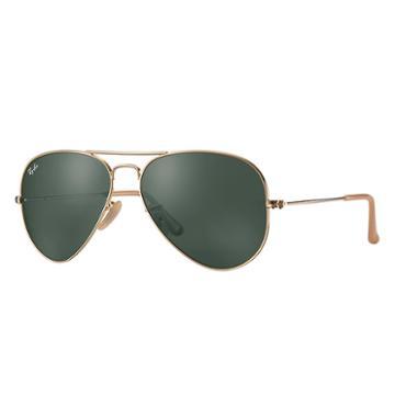 Ray-ban Aviator 1937 Gold Sunglasses, Green Lenses - Rb3025