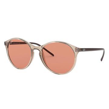 Ray-ban Brown Sunglasses, Orange Lenses - Rb4371
