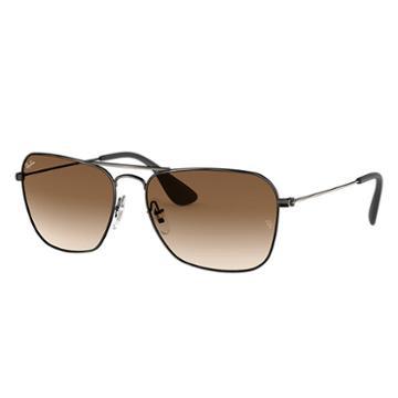 Ray-ban Black Sunglasses, Brown Lenses - Rb3610