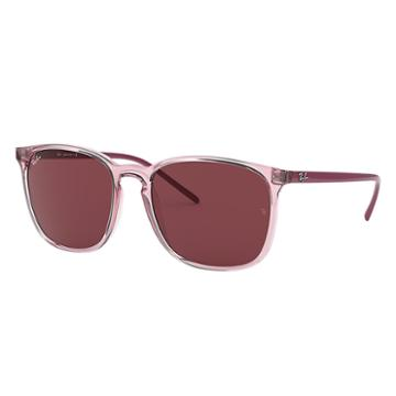 Ray-ban Pink Sunglasses, Violet Lenses - Rb4387