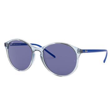 Ray-ban Blue Sunglasses, Violet Lenses - Rb4371