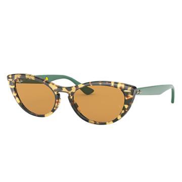 Ray-ban Nina Kraviz X Ray-ban Studios Green Sunglasses, Yellow Lenses - Rb4314n