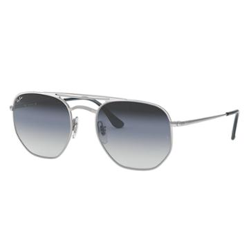 Ray-ban Silver Sunglasses, Blue Lenses - Rb3609