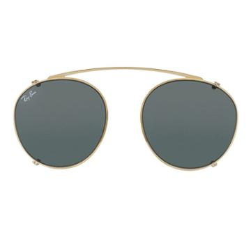 Ray-ban Rb2180 Clip-on Gold Sunglasses - Rb2180c