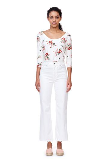 Rebecca Taylor Marguerite Jersey Tee