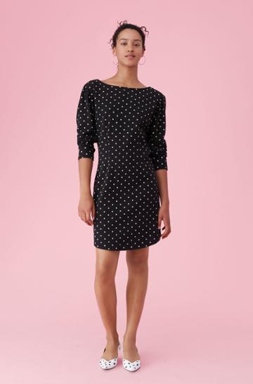 Rebecca Taylor La Vie Estelle Dot Jersey Dress