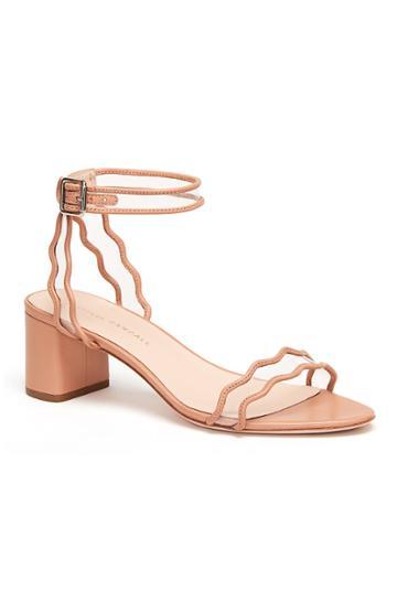 Rebecca Taylor Loeffler Randall Block Heel Sandal
