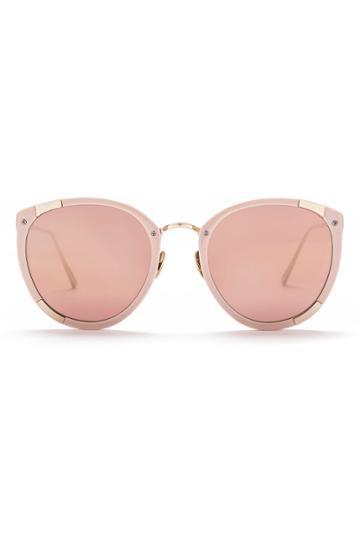 Rebecca Taylor Sunday Somewhere X Rebecca Taylor Zoe Sunglasses Blush, Size One Size