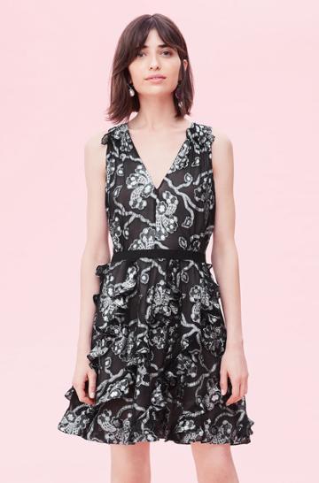 Rebecca Taylor Rebecca Taylor Lurex Lily Clip Dress