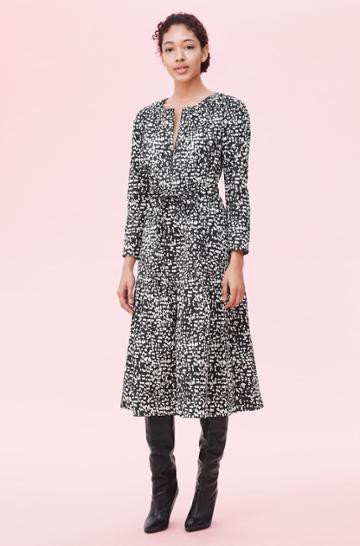 Rebecca Taylor Rebecca Taylor La Vie Dot Print Dress