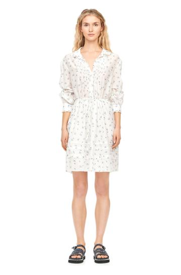 Rebecca Taylor Spring Floral Voile Shirtdress