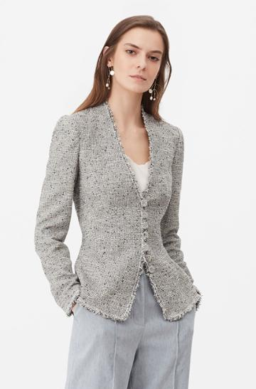 Rebecca Taylor Rebecca Taylor Tailored Tweed Jacket