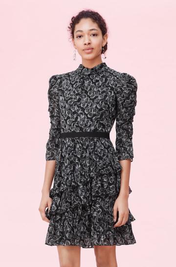 Rebecca Taylor Rebecca Taylor Celia Lace Clip Dress