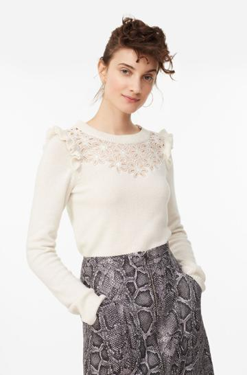 Rebecca Taylor Emilie Embroidered Pullover
