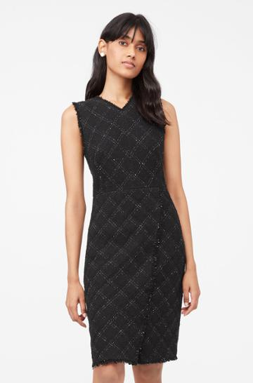 Rebecca Taylor Rebecca Taylor Tailored Textured Tweed Dress