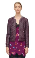 Rebecca Taylor Rebecca Taylor Quilted Leather Jacket