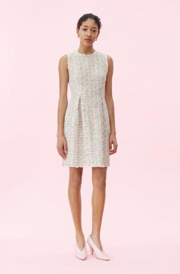Rebecca Taylor Rebecca Taylor Rainbow Tweed Dress Multi, Size 00