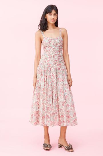 Rebecca Taylor Rebecca Taylor La Vie Falaise Floral Dress