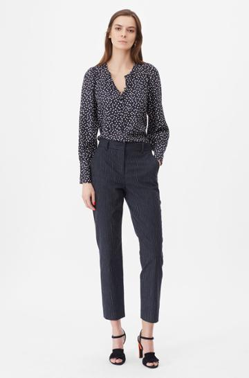 Rebecca Taylor Rebecca Taylor Tailored Pinstripe Suiting Pant