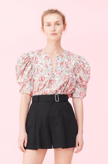 Rebecca Taylor Rebecca Taylor La Vie Falaise Floral Top