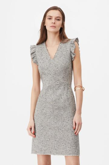 Rebecca Taylor Rebecca Taylor Tailored Tweed Dress