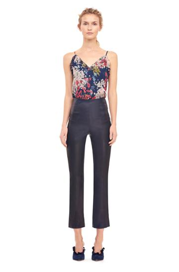 Rebecca Taylor Stretch Leather Pant