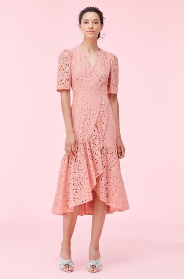 Rebecca Taylor Rebecca Taylor Clover Embroidered Dress
