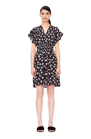 Rebecca Taylor Rosalie V-neck Dress