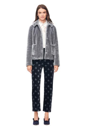Rebecca Taylor La Vie Faux Fur Jacket