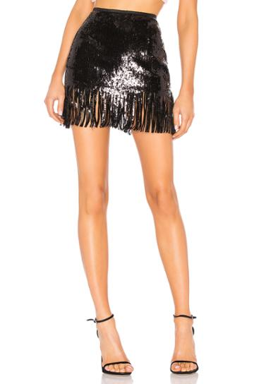 Speak Easier Shimmy Sequins Skirt