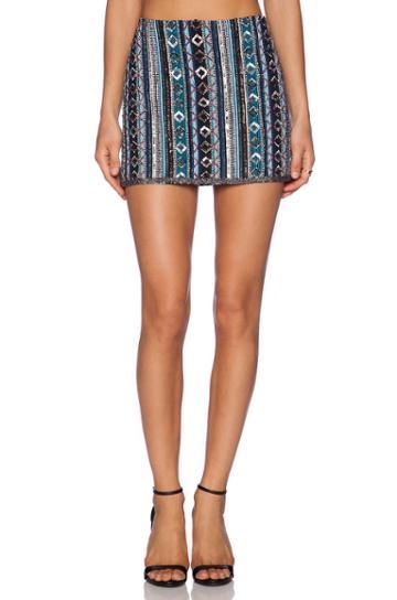 Mousse Embellished Skirt