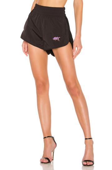 Washed Nylon Shorts