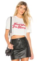Justice Cropped Tee