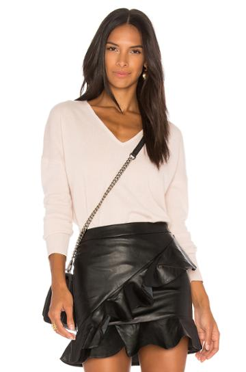 Double V Neck Cashmere Sweater