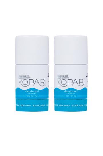 Coconut Deodorant Mini Duo