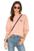 Palm Tree Crewneck Sweatshirt