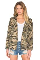 Hooded Military Jacket