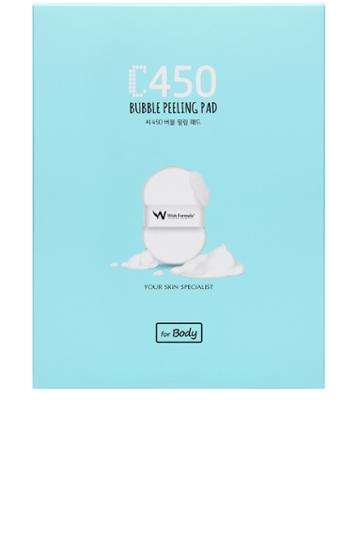 C450 Bubble Peeling Pad For Body 4 Pack