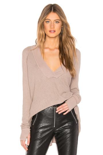 Alvin Long Sleeve V Neck Sweater